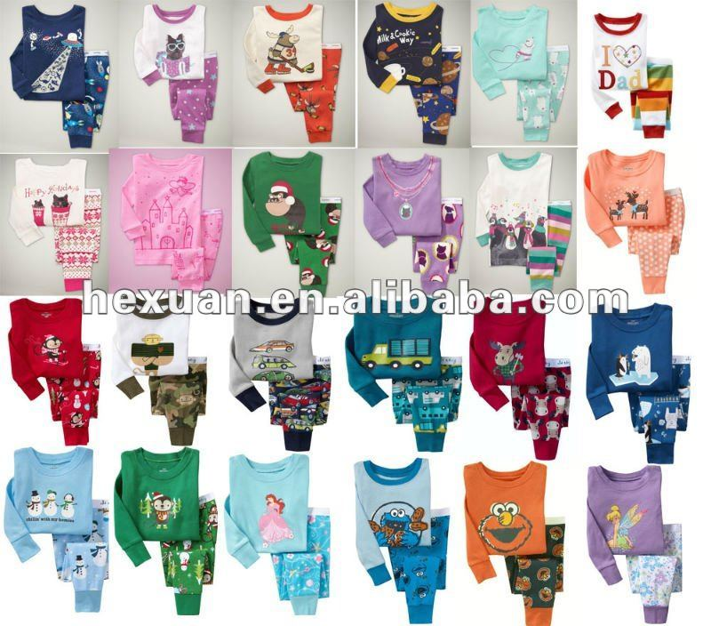wholesale baby kids/Pyjamas,long sleeve baby pyjamas,Baby Sleepwear