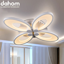 Wholesale 5 Fans Acrylic Ceiling Lamp SMD Modern Led Ceiling ...