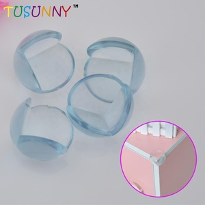 PVC transparent table corner guard clear corner protector