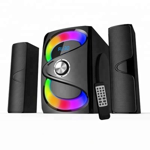 Best selling home karaoke 2.1 multimedia speaker home theater system speaker with AUX/BT/FM/SD/USB input
