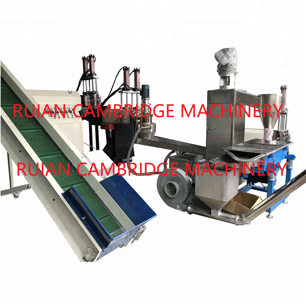 Afval Plastic Recycling Machine