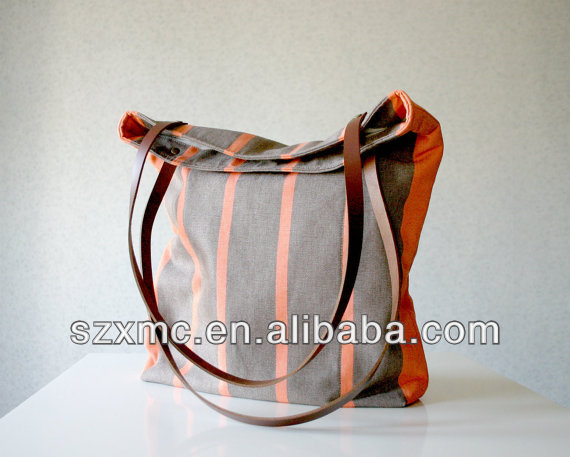 Canvas Bag Leather, Canvas Bag Leather Suppliers and Manufacturers ...