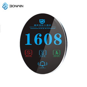 New model LED room electronic door sign for hotel