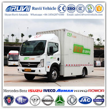 2017 New Design Electric Truck Cargo, 4x2 Electric Light Truck, Zero-emission Electric Vehicles sale in Europe