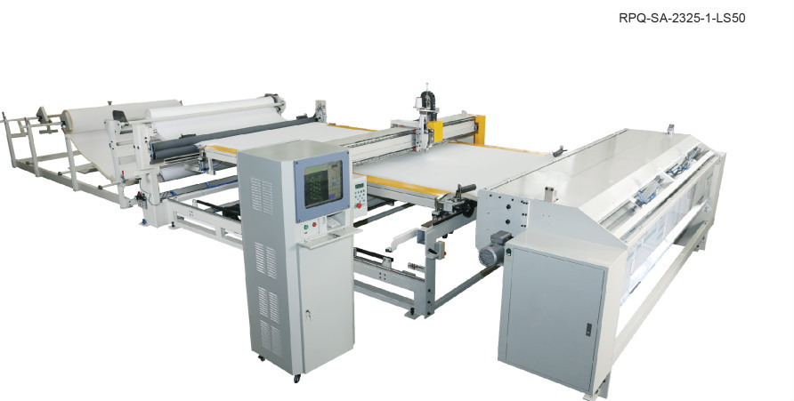 Richpeace Automatic Quilting Machine with Auto-feeding and cutting system