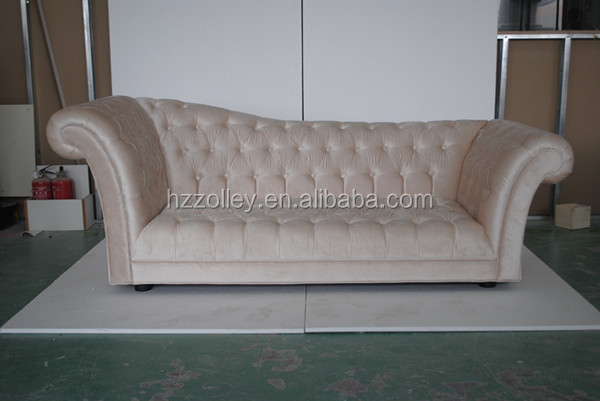 Beige Luxury Lounge Sofa Furnitures Five Star VIP Room Hotel Furniture