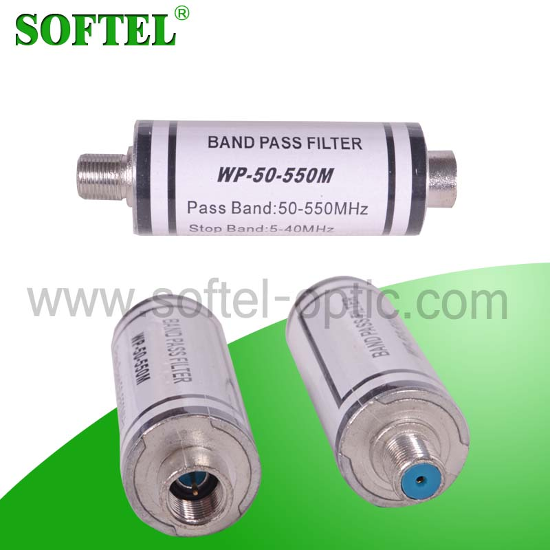 [SOFTEL]band pass 50-550Mhz & stop pass 5-40Mhz band filter, channel band pass filter, high pass filter / low pass filter
