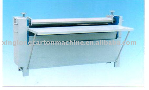 corrugated box machine pasting machine