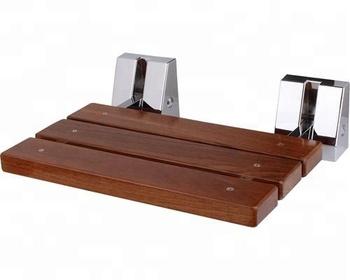 Sedile Doccia Legno : Ultima migliore muro piegare legno sedile doccia in teak buy