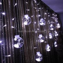 <span class=keywords><strong>120</strong></span> Led Della Tenda Palla per la Decorazione Di Natale Led String Curtain