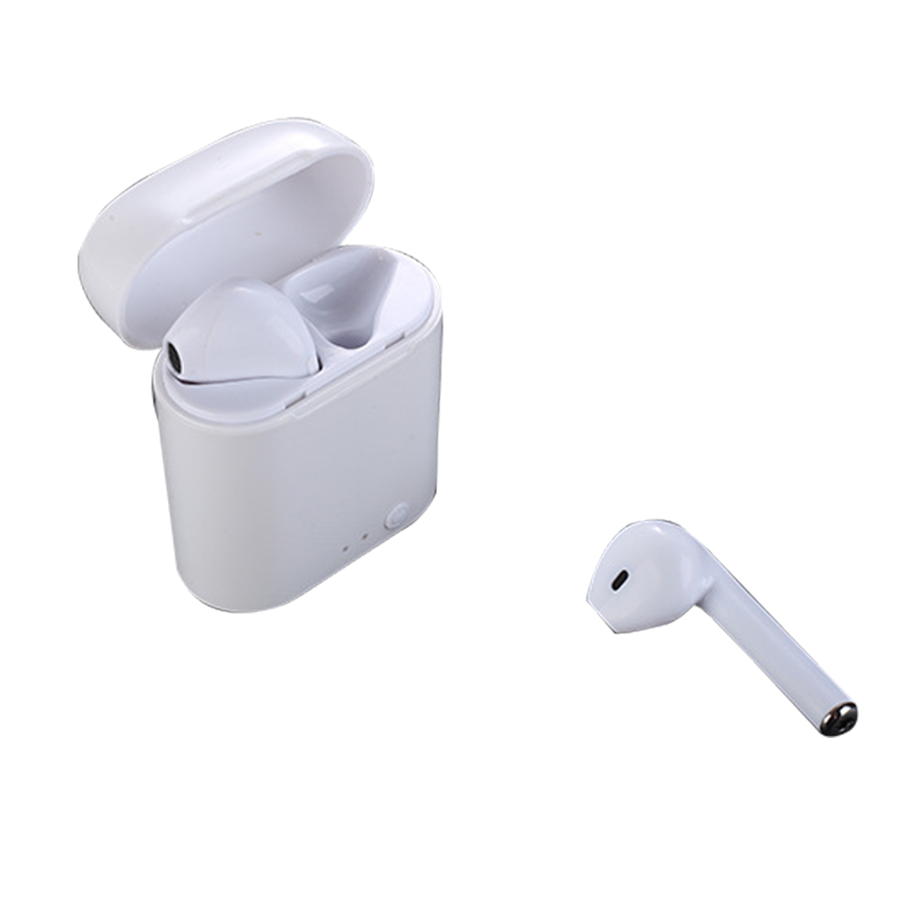I7 TWS Mini BT V4.2 Earbuds Wireless Earphone Stereo Headset For Phone X 8 8 PLUS 7 plus 7 6s 6 plus