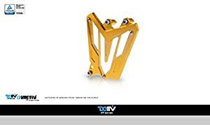 Dimotiv DMV Front Sprocket Cover for Yamaha MT07 14-15 (Gold)