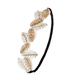 Factory direct wholesale hot selling cheap bride rhinestone girls shrek ear headband
