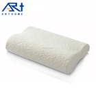 high quality hotel memory foam white knitted fabric pillow for improving sleep