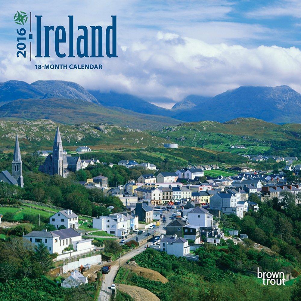 Ireland 2016 Small Wall Calendar