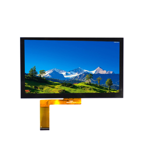 1024x600 full viewing 7 inch IPS touch lcd panel tft display 4 lane mipi