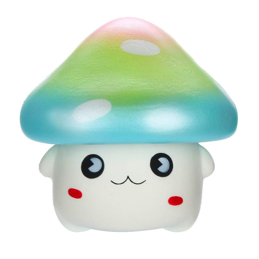 callm Squishies Mushroom Style Slow Rising Jumbo Squishy Toys Kawaii Cute Scented Squishies Kids Party Squishy Stress Reliever Toy