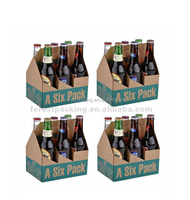 HIGH QUALITY 6 PACK BEER BOTTLE CARRIER CUSTOM MADE MANUFACTURER