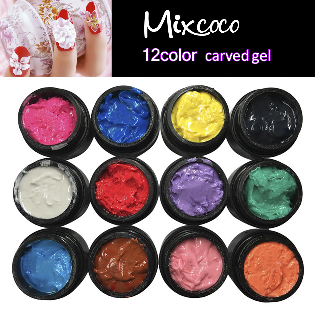 Become exclusive distributor Mixcoco carving gel paint 3d flower sculpture gel