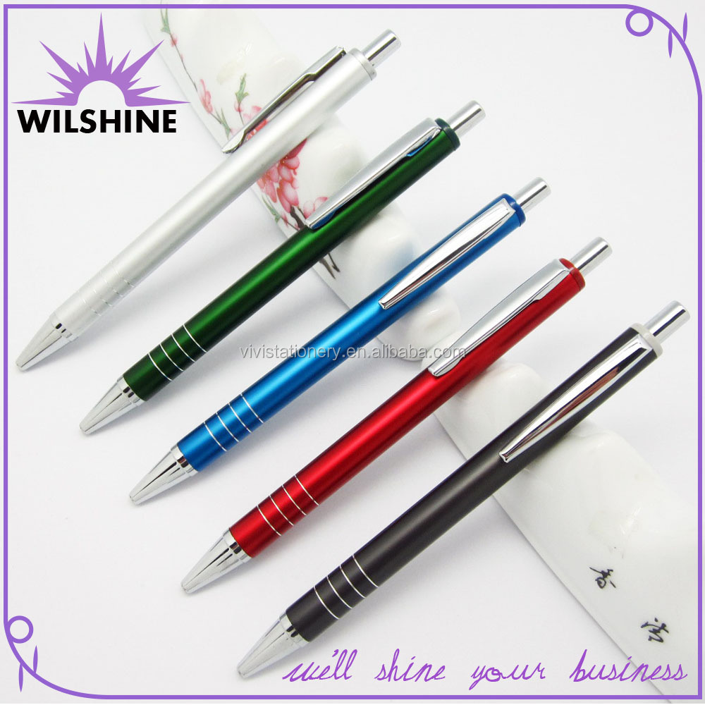 Perfect Etched Logo Ball Pen for Advertising