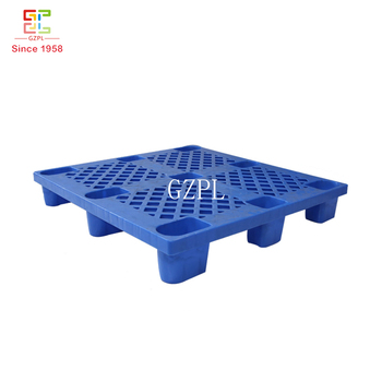 Factory Export 9 Feet Single Side Plastic Pallet With Mesh Surface For Sale