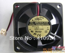 Used Free Shipping DC24V 0.09A Server Cooling Fan For ADDA AD0624HB-C71GL Server Square Fan 2-wire 60x60x20mm