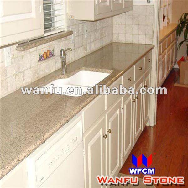 goldgelb granit k che waschbecken und arbeitsplatte. Black Bedroom Furniture Sets. Home Design Ideas