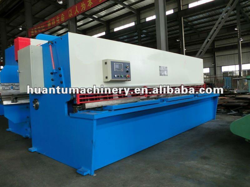CNC Hydraulic guillotine motorized shearing machine,placa de metal,price mild steel plate 6mm plate