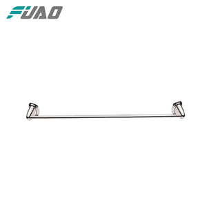 FUAO Deck mounted chrome wall heated towel bars