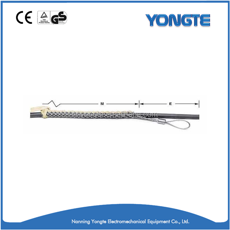 Mesh Wire Rope Cable Pulling Grip Cable Socks