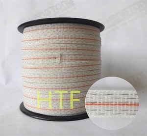 polytape for security electric fence equipment for sheep farm