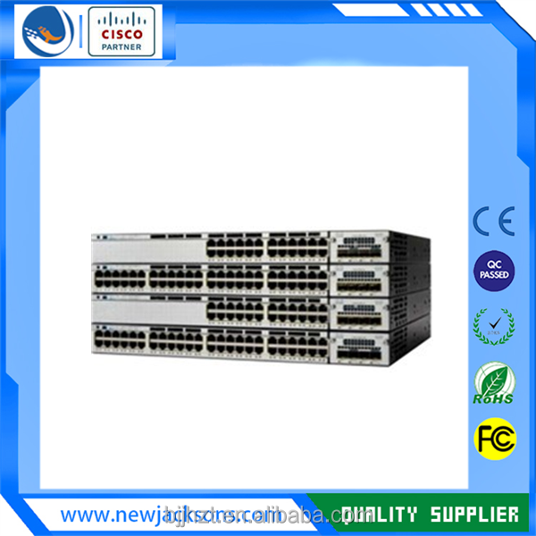 WS-C3750X-24T-E Cisco 24 Poe+10/100/1000 Ethernet Ports ethernet switch
