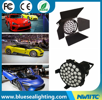 Professional DMX Xw Led White Exhibition Motor Auto Car Show - Led car show lights