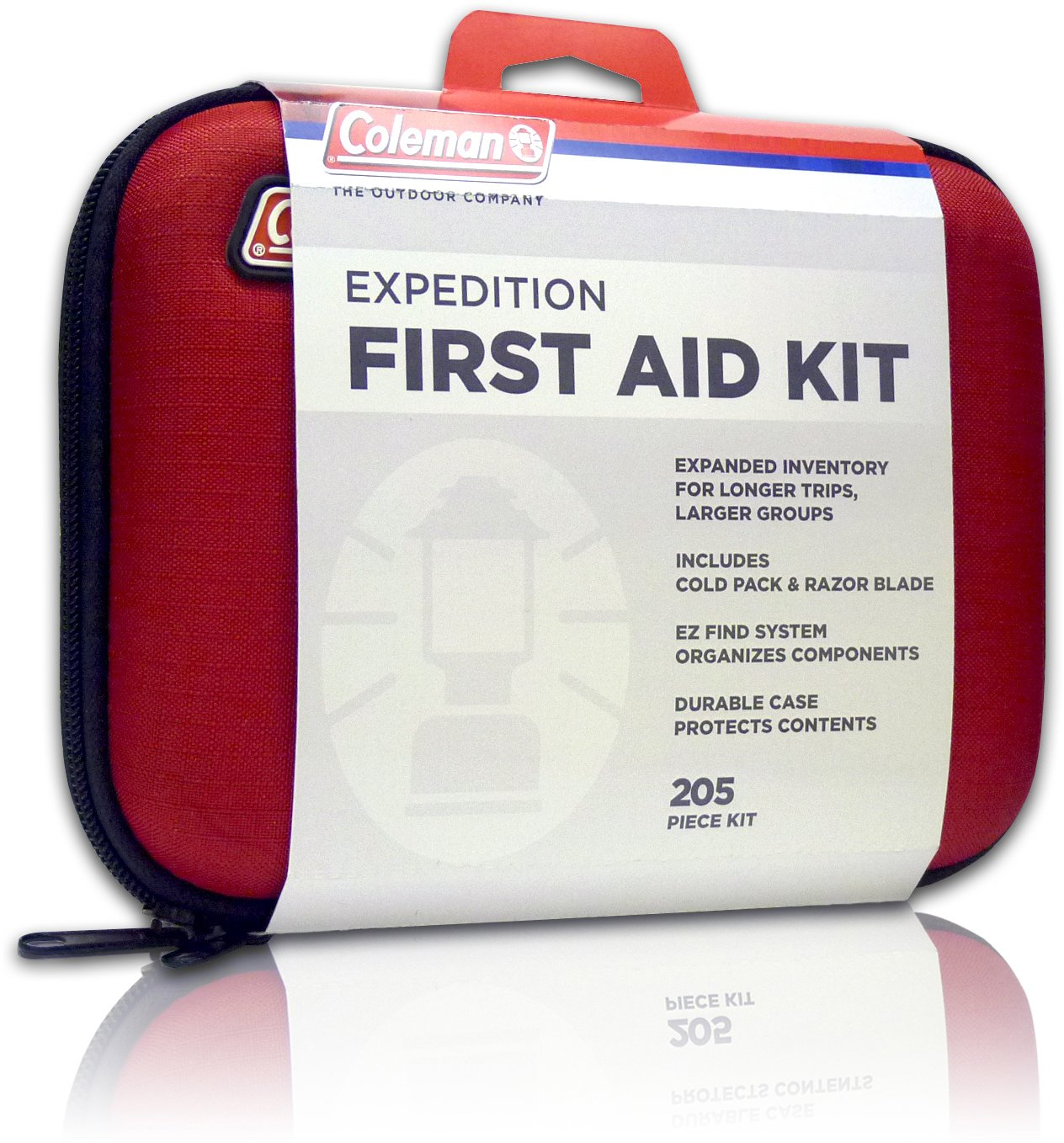 Coleman Camping First Aid Kit an All Purpose First Aid Kit for Emergencies at Home, Car, Workplace, Hiking, or Survival, 205-Pieces