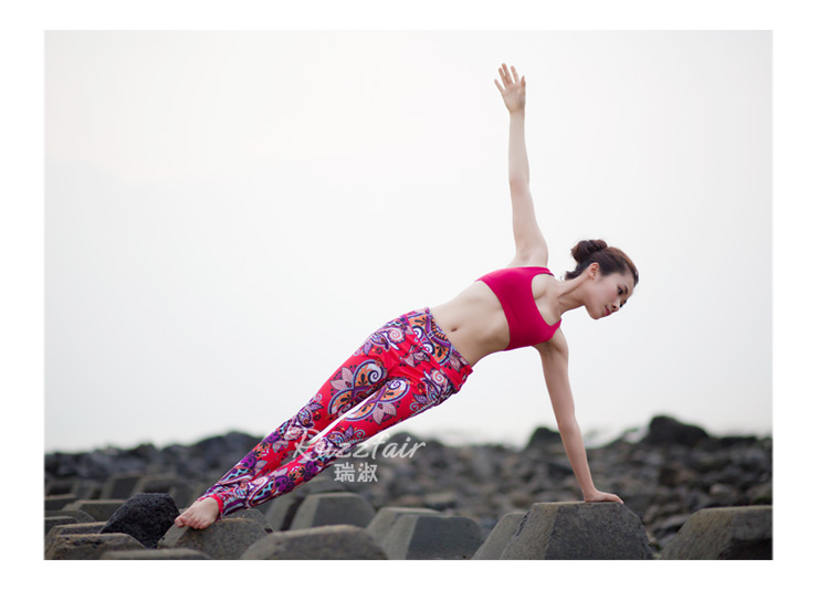 Latest design activewear, slim leggings, Yoga workout clothes top and pants