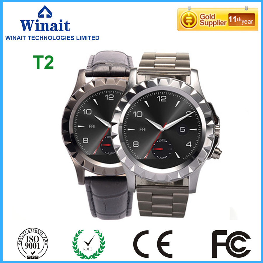 2016 hot sell s2 smart watch, touch display heart rate watch phone