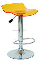 swivel ACRYLIC bar Stool manufacturer Plastic Swivel bar stool/bar chair/bar table