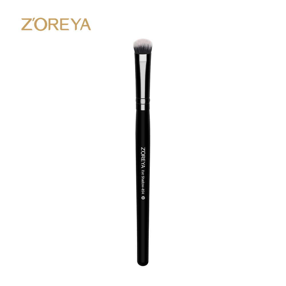 2017 Z'oreya Classical Blackeyeshadow brush disposable nylon hair branded eye shadow make up brushes
