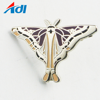 Wholesale Direct sell custom design hard enamel metal bulk lapel pins