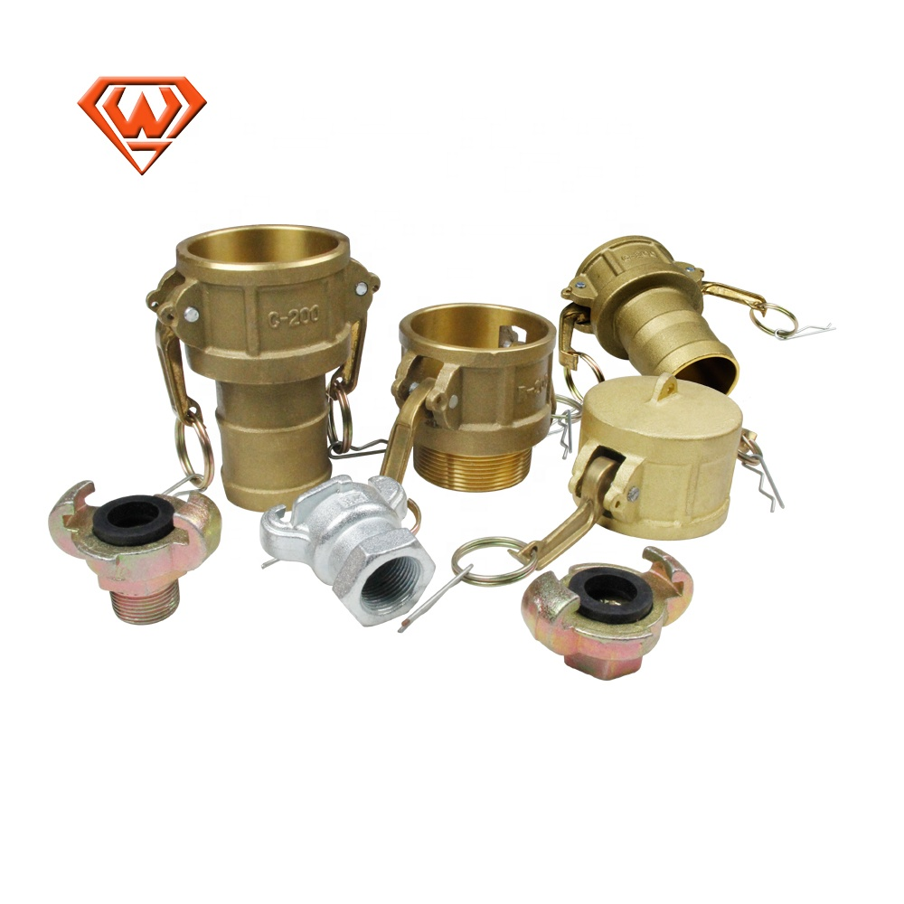 Brass / Stainless Steel / Aluminum Female Camlock Quick Coupling