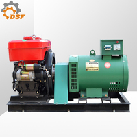 Hot selling electric motor 12kw single phase 230v generator