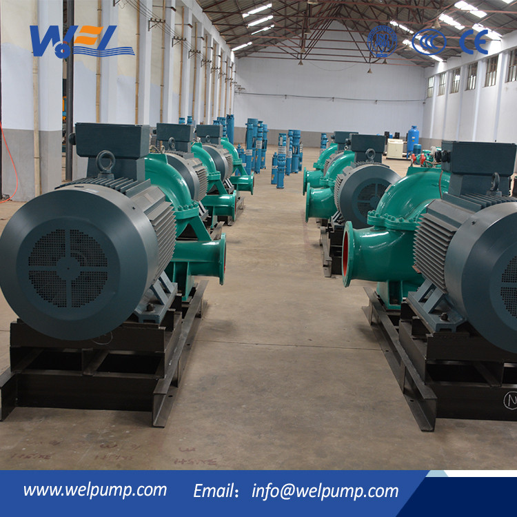 200kw Horizontal Axially Split Case Double entry Centrifugal Pump