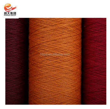 Nm12 3 Ply Dyed 100 Wool Wilton Yarn Cone For Carpet Rug Whole Worsted