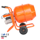 Portable 220V,120L Electric hand Concrete Cement Mixer Barrow Machine Mixing Mortar