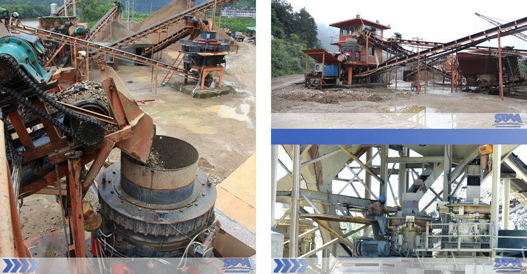 SBM manufacturer supply CS Series Spring cone crusher price
