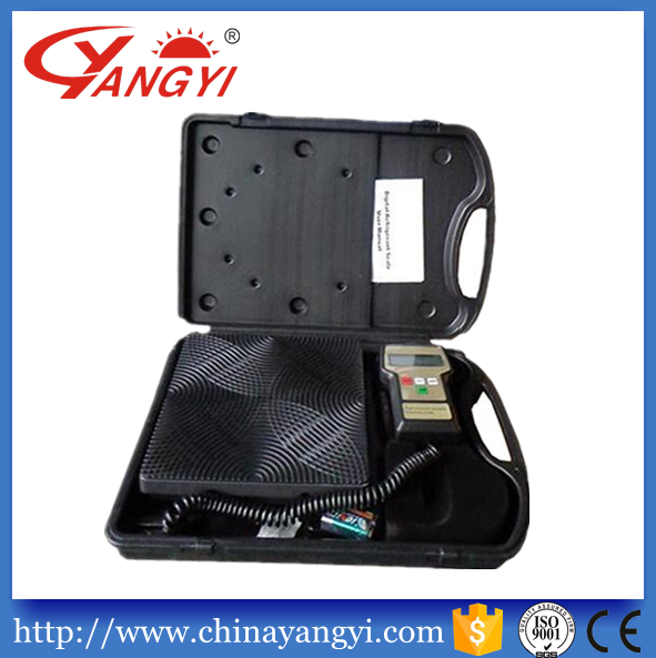 High precision electronic refrigerant charging scale electronic balance 50kg