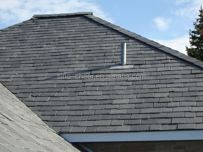Chinese Mystic grey roofing slate tile