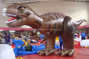 Giant Inflatable Rex Model