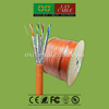 Iran Hot Selling 305m 1000ft LSZH LSOH Jacket 23 AWG 4 PR Solid Bare Copper Cat 7 SFTP Net Connect Cable