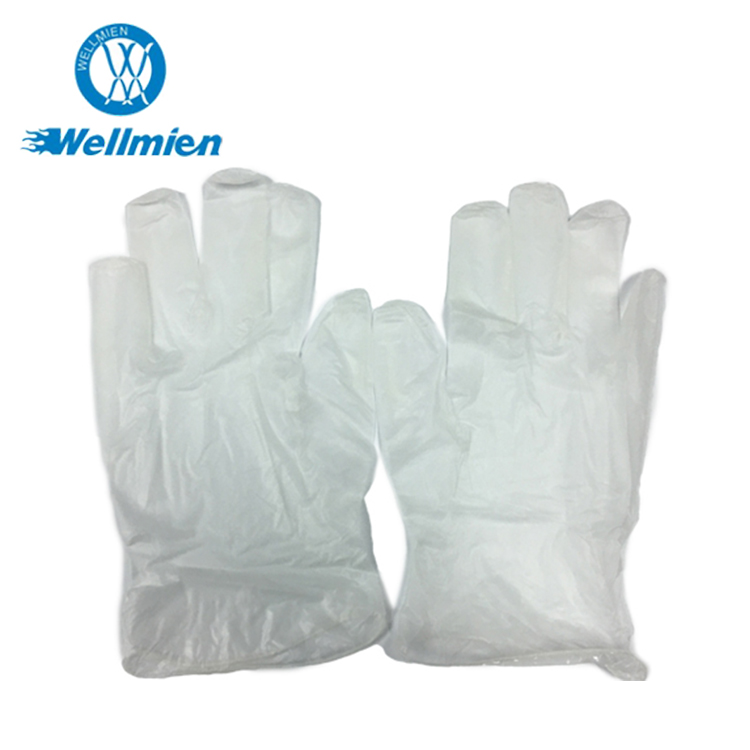 PVC Gloves Disposable Safety Medical Examination Vinyl Gloves